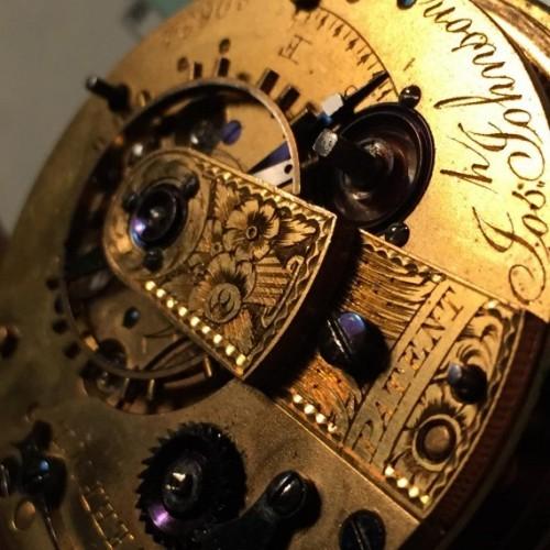 Other Grade Josh Johnson Fusee Pocket Watch Image