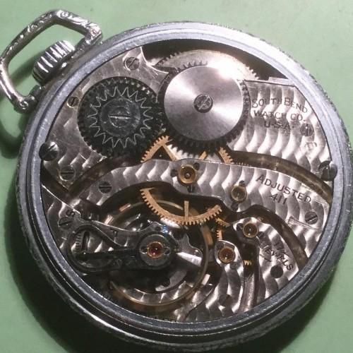 South Bend Grade 411 Pocket Watch Image