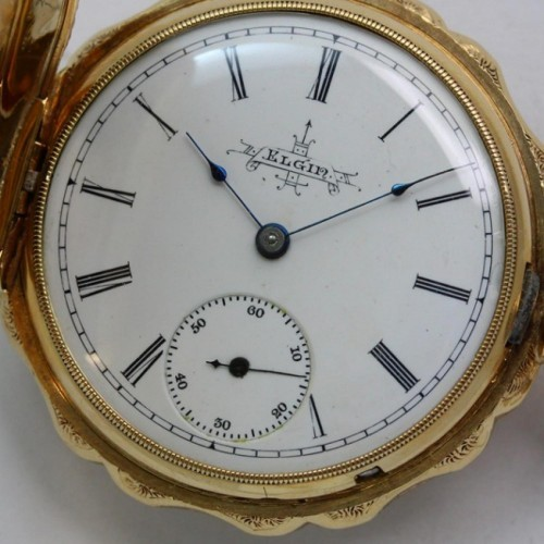 Elgin Grade 66 Pocket Watch Image