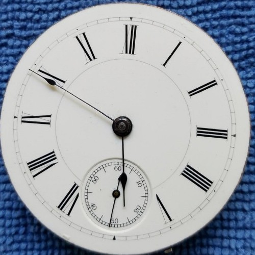 Seth Thomas Grade 202 Pocket Watch Image