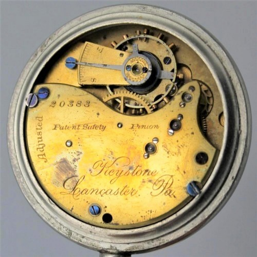 Lancaster Watch Co. Grade Keystone Pocket Watch Image