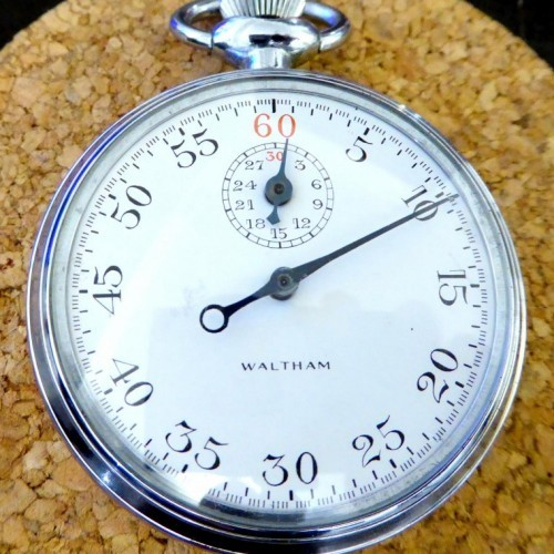 Waltham Grade Timer Pocket Watch Image