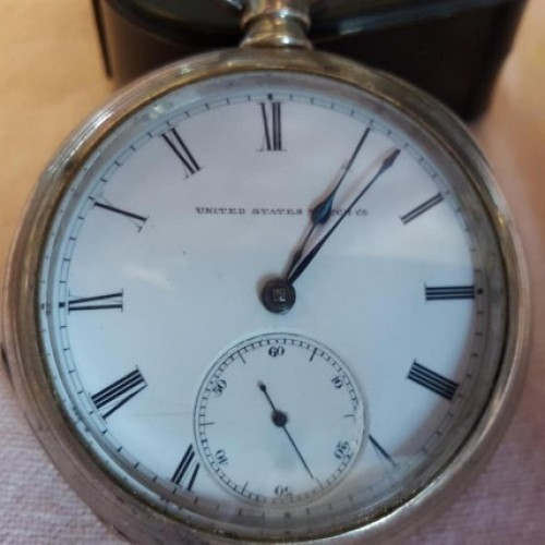 U.S. Watch Co. (Marion, NJ) Grade G.A.Read Pocket Watch Image