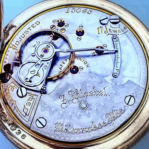 Hamilton Grade 939 Pocket Watch Image