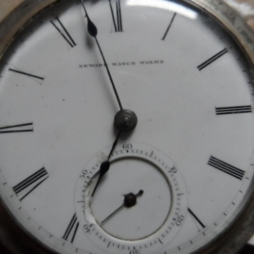 Newark Watch Co. Grade Edward Biven Pocket Watch Image
