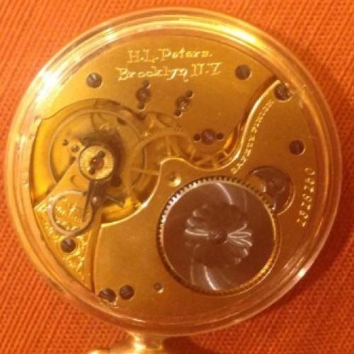 Illinois Grade 171 Pocket Watch Image