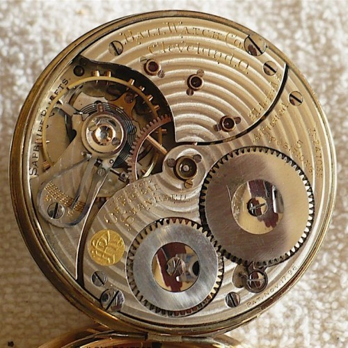 Image of Ball - Waltham Official Standard #B247035 Movement