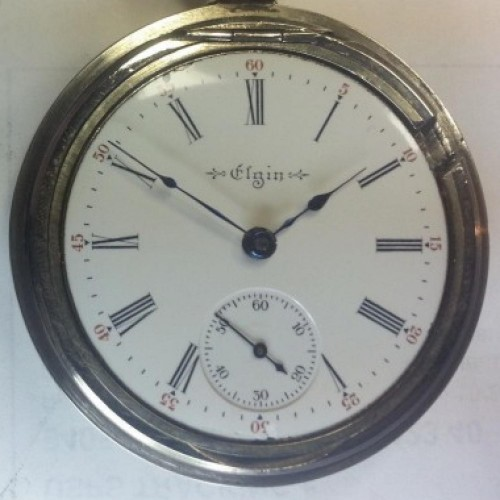 Elgin Grade 379 Pocket Watch Image