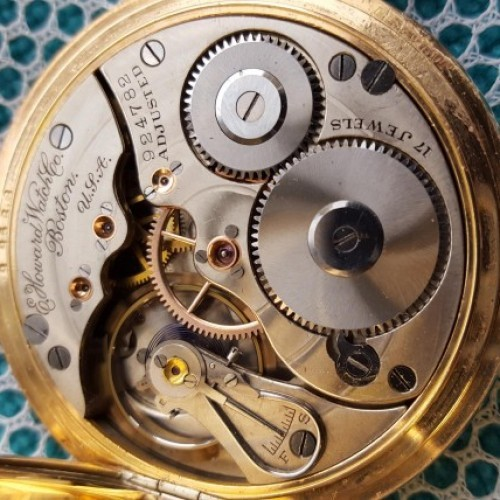 Image of E. Howard Watch Co. (Keystone) Series 3 #924782 Movement