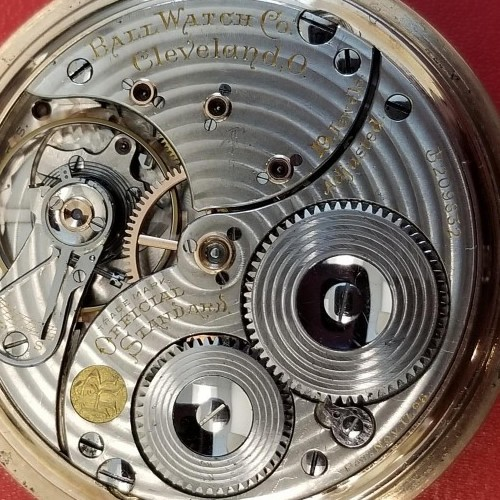 Image of Ball - Waltham Official Standard #B209283 Movement