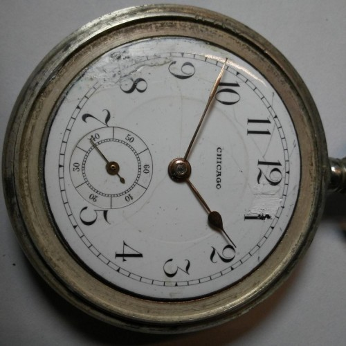 Chicago Watch Co. Grade  Pocket Watch Image