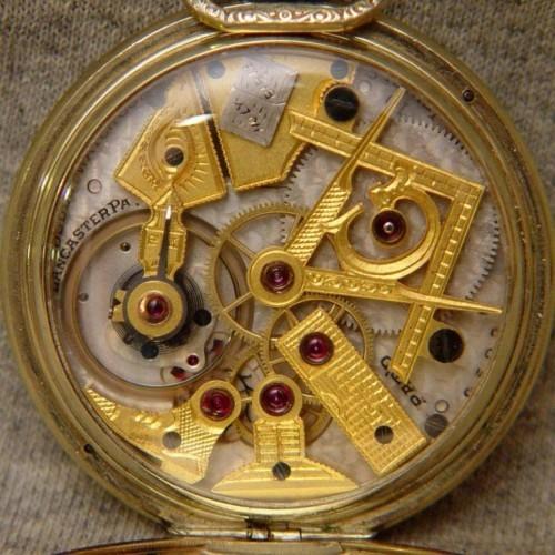 Dudley Watch Co. Grade  Pocket Watch Image