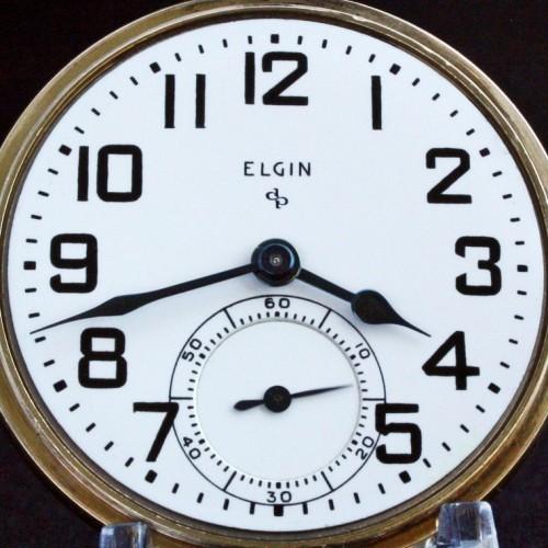 Image of Elgin 575 #J404250 Dial
