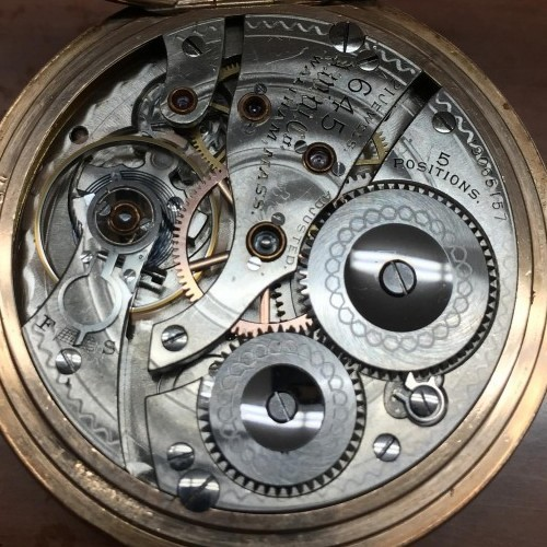 Image of Waltham No. 645 #19065157 Movement