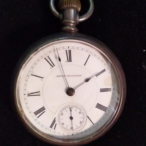 Seth Thomas Grade 155 Pocket Watch Image