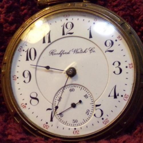 Rockford Grade 566 Pocket Watch Image