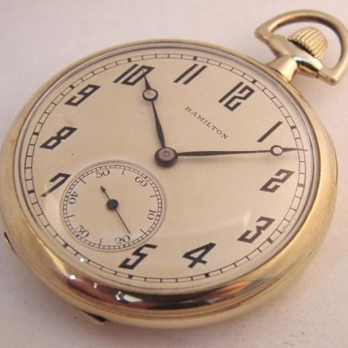 Hamilton Grade 920 Pocket Watch Image