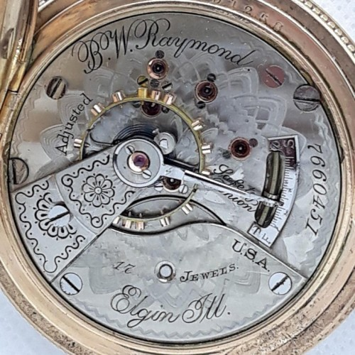 Elgin Grade 183 Pocket Watch Image
