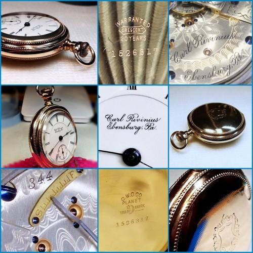 Hamilton Grade 932 Pocket Watch Image