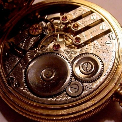 Elgin Grade 156 Pocket Watch Image