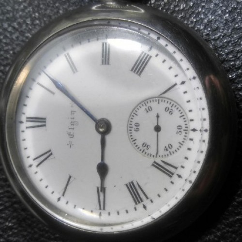 Elgin Grade 143 Pocket Watch Image