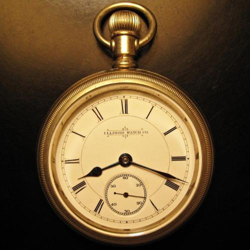 Illinois Grade 60 Pocket Watch Image