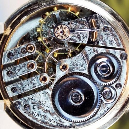 Elgin Grade 162 Pocket Watch Image