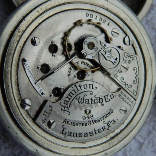 Hamilton Grade 948 Pocket Watch Image