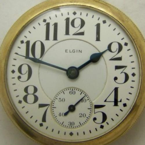 Elgin Grade 453 Pocket Watch Image