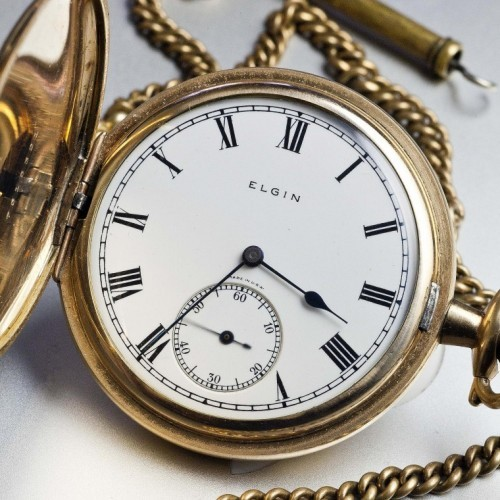 Elgin Grade 292 Pocket Watch Image