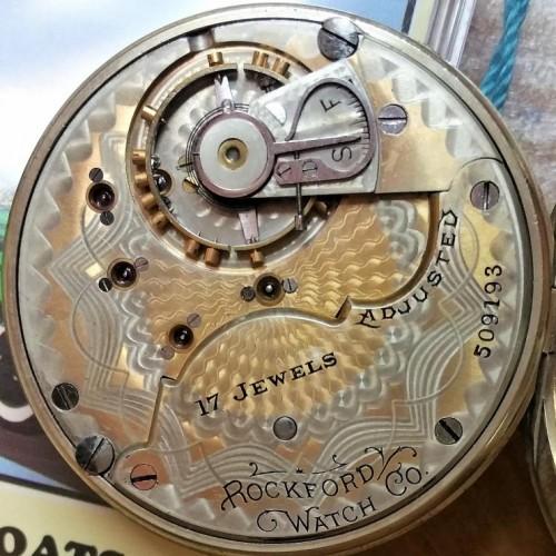 Rockford Grade 925 Pocket Watch