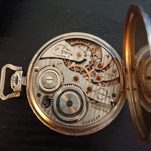 Illinois Grade 405 Pocket Watch Image