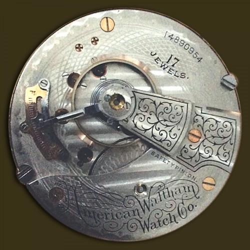 Image of Waltham No. 825 #14890954 Movement