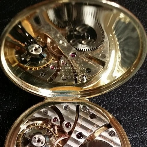 Gruen Watch Co. Grade  Pocket Watch Image