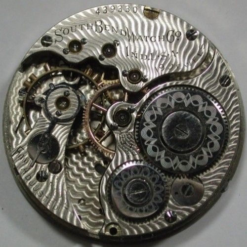 South Bend Grade 293 Pocket Watch Image