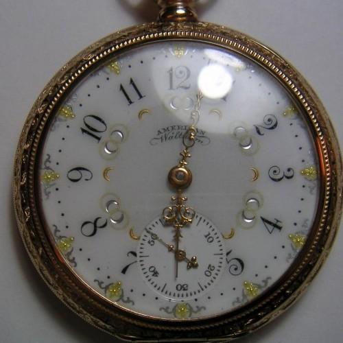 Waltham Grade Riverside Maximus Pocket Watch Image