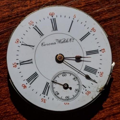 Corona Watch Co. Grade  Pocket Watch Image