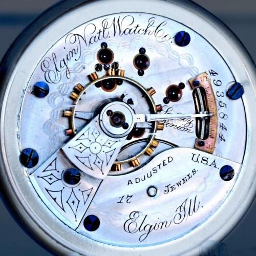 Elgin Grade 126 Pocket Watch Image