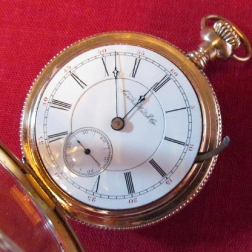 Aurora Watch Co. Grade 6 Pocket Watch Image