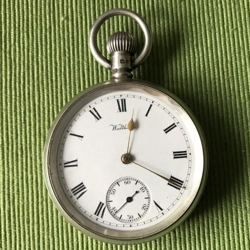 Waltham Grade Bond St. Pocket Watch Image