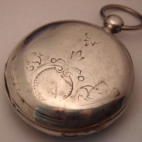 Illinois Grade Interior Pocket Watch Image