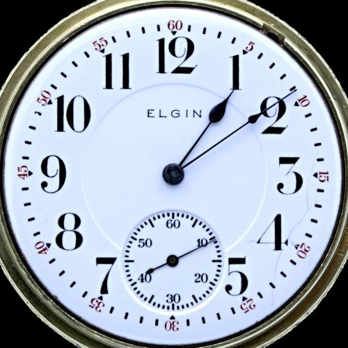 Elgin Grade 370 Pocket Watch Image