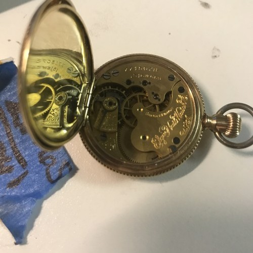 Elgin Grade 129 Pocket Watch Image