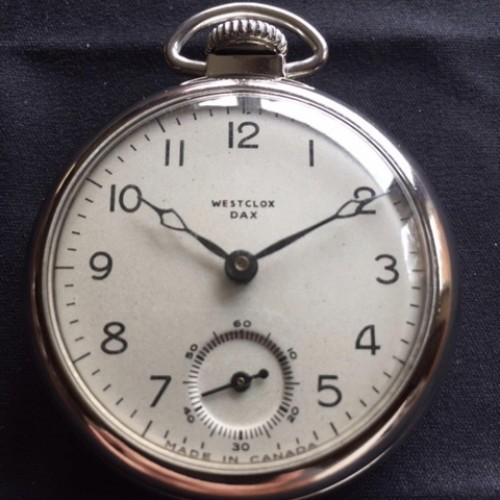 Western Clock Co. Grade  Pocket Watch Image