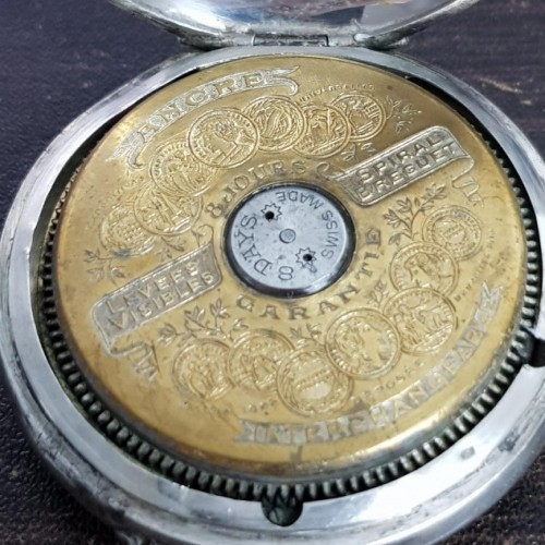 Hebdomas Pocket Watch Serial Number Lookup & Identify