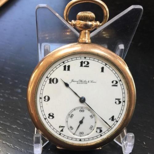 Illinois Grade 404 Pocket Watch Image