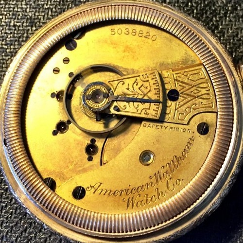 Waltham Grade No. 3 Pocket Watch