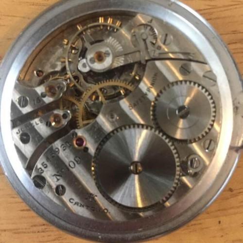 Hampden Grade No. 109 Pocket Watch Image