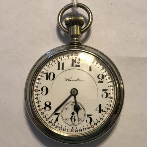 Hamilton Grade 996 Pocket Watch Image