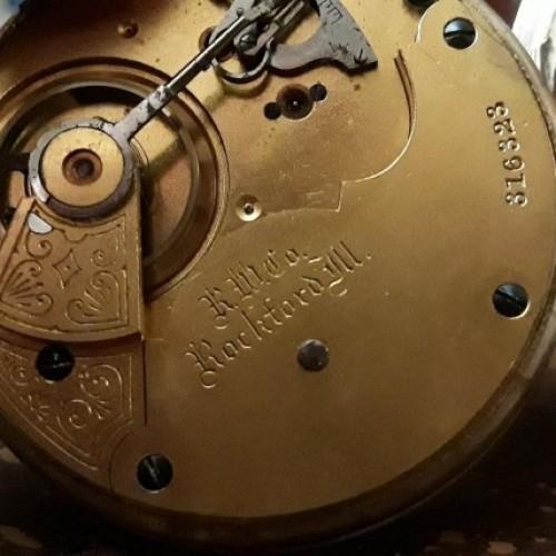 Rockford Grade 93 Pocket Watch Image